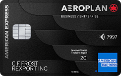 American Express Aeroplan* Business Reserve Card
