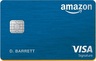 Apply online for Amazon Rewards Visa Signature Card