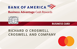 Bank of America Cash Rewards for Business Mastercard