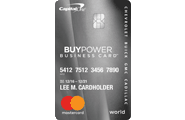 GM BuyPower Business Card from Capital One® -Get The Card That Helps You Get The Car