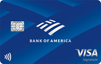 Bank of America Travel Rewards Visa Credit Card