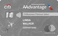 Apply online for CitiBusiness / AAdvantage Platinum Select World Mastercard