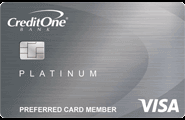 Credit One Bank Cash Back Rewards Credit Card