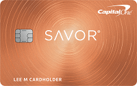 Apply online for Capital One Savor Cash Rewards Credit Card