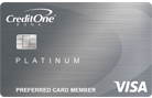 Apply online for Credit One Bank Unsecured Platinum Visa