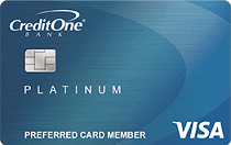 Credit One Bank NASCAR Visa Credit Card