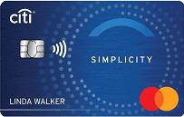 Citi Simplicity Card MasterCard