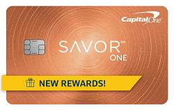 Apply online for Capital One SavorOne Cash Rewards Credit Card