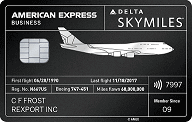 Delta SkyMiles Reserve Business American Express Card