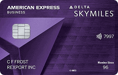 Delta Reserve for Business Credit Card