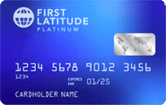 The First Latitude MasterCard Secured Credit Card