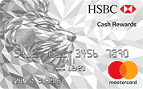 Apply online for HSBC Cash Rewards Mastercard