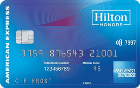 Hilton Honors Card from American Express
