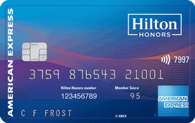 Hilton Honors Surpass Card from American Express