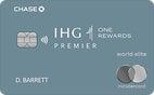 Learn more on IHG Rewards Club Premier Credit Card