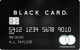 Apply online for MasterCard Black Card