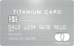Apply online for MasterCard Titanium Card