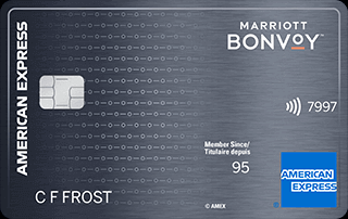 The Starwood Preferred Guest Credit Card from American Express