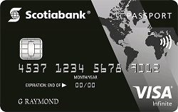 Apply online for Scotiabank Passport Visa Infinite Card