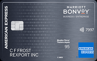 Apply online for Marriott Bonvoy Business American Express Card