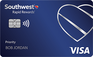 Learn more on Southwest Rapid Rewards Priority Credit Card