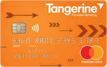 Apply online for Tangerine Money-Back Credit Card