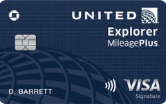 United MileagePlus Explorer Card