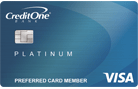 Apply online for Credit One Bank Platinum Visa for Rebuilding Credit