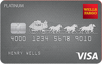 Apply online for Wells Fargo Platinum Visa Credit Card