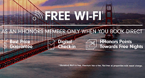 Enjoy Free WiFi at Hilton Hotels