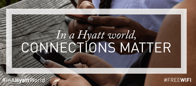 Hyatt Hotels Lead the Way with Free WiFi