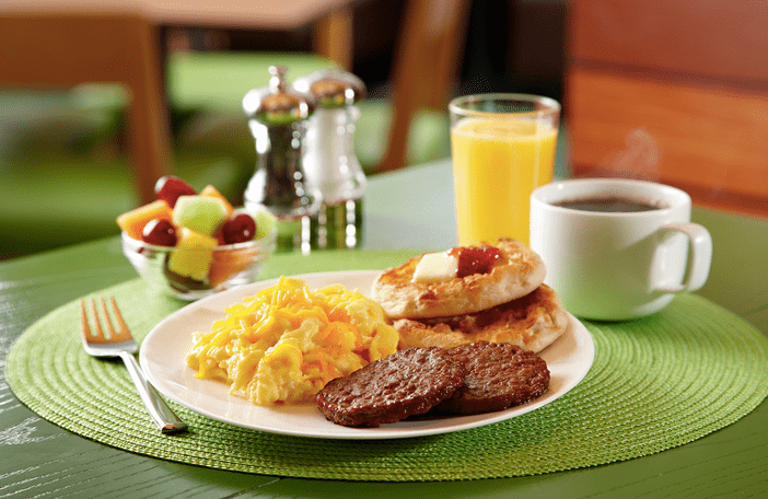 Get Free Breakfast at Marriott Hotels