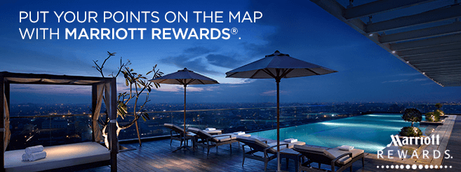 Marriott Reward points with a credit card