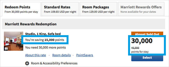 What are Marriott PointSavers and How Can I Redeem Them