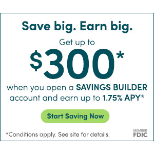 CIT Savings Builder $300 Bonus